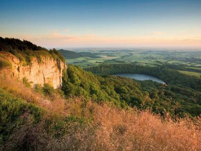 Enjoy a great view at Sutton Bank: day or night! © Mike Kipling