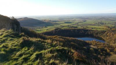 Enjoy a great view at Sutton Bank: day or night!